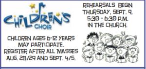 Children's Choir Registration