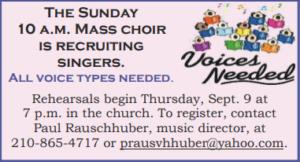 Choir Rehearsal @ Church
