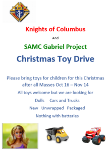 Christmas Toy Drive @ Narthex
