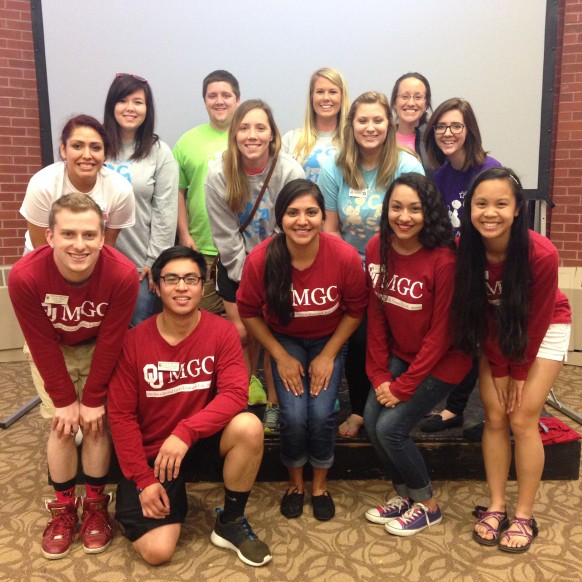 Pictured: MGC Officers and CASP Staff