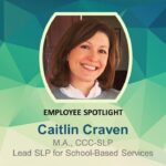 Meet Our Lead SLP for School-Based Services