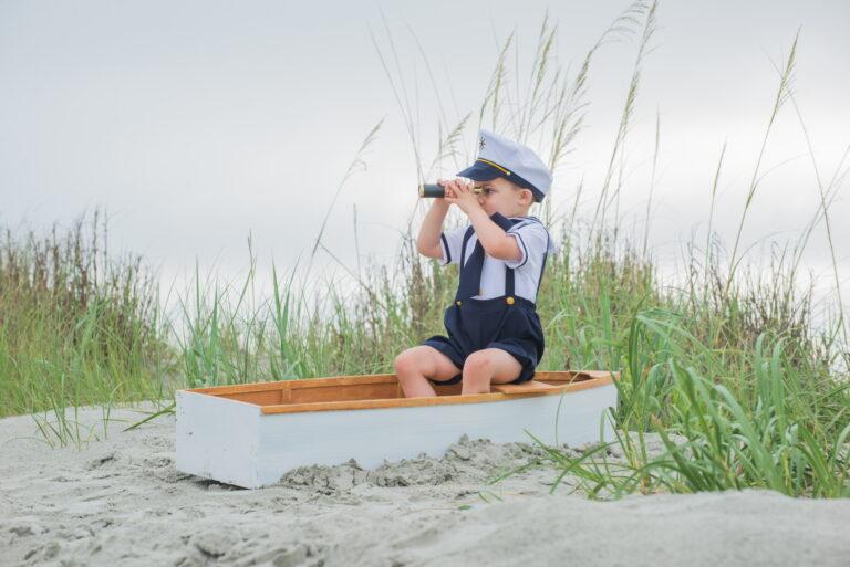 Myrtle Beach children's beach photography