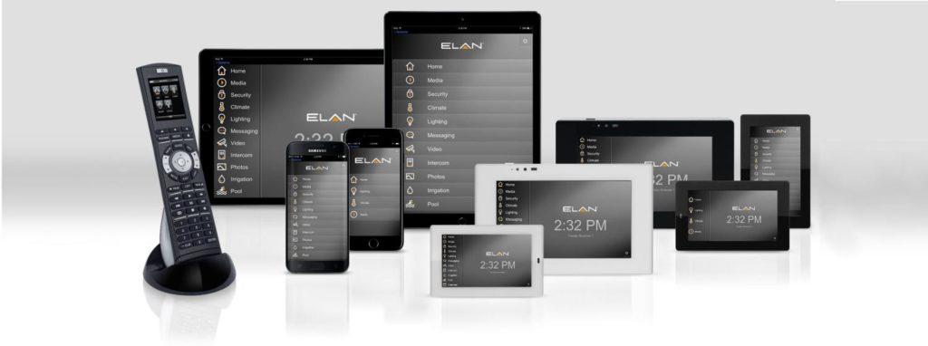 Elan Home Systems User Interfaces