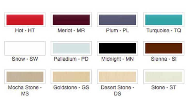 Lutron Color Options