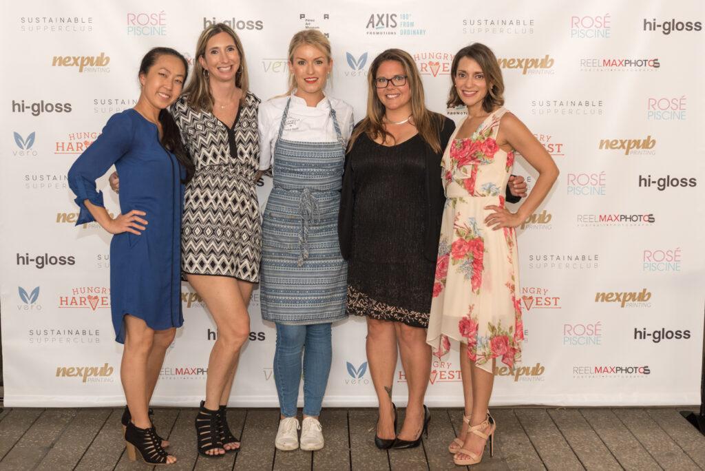 Emily Burster Jennifer Weinberg Chef Janine Booth Tammy Martinez Mayela Lanza