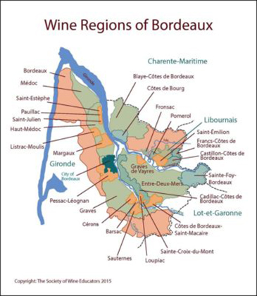 Learning to Love French Wines – a white blend from Bordeaux