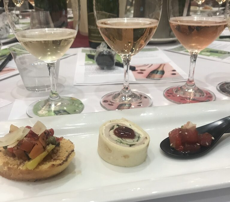 Sparkling Wines and Food Pairings for the New Year