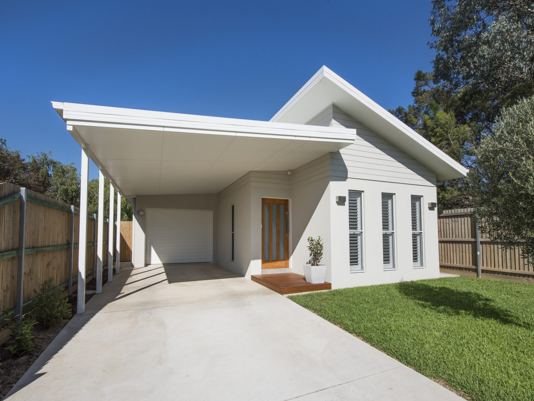 New custom design home