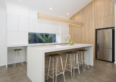 Modern custom kitchen