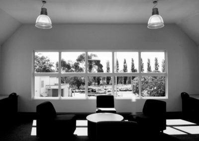 Modern addition and renovation