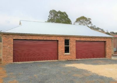 New garage to 1910 homestead