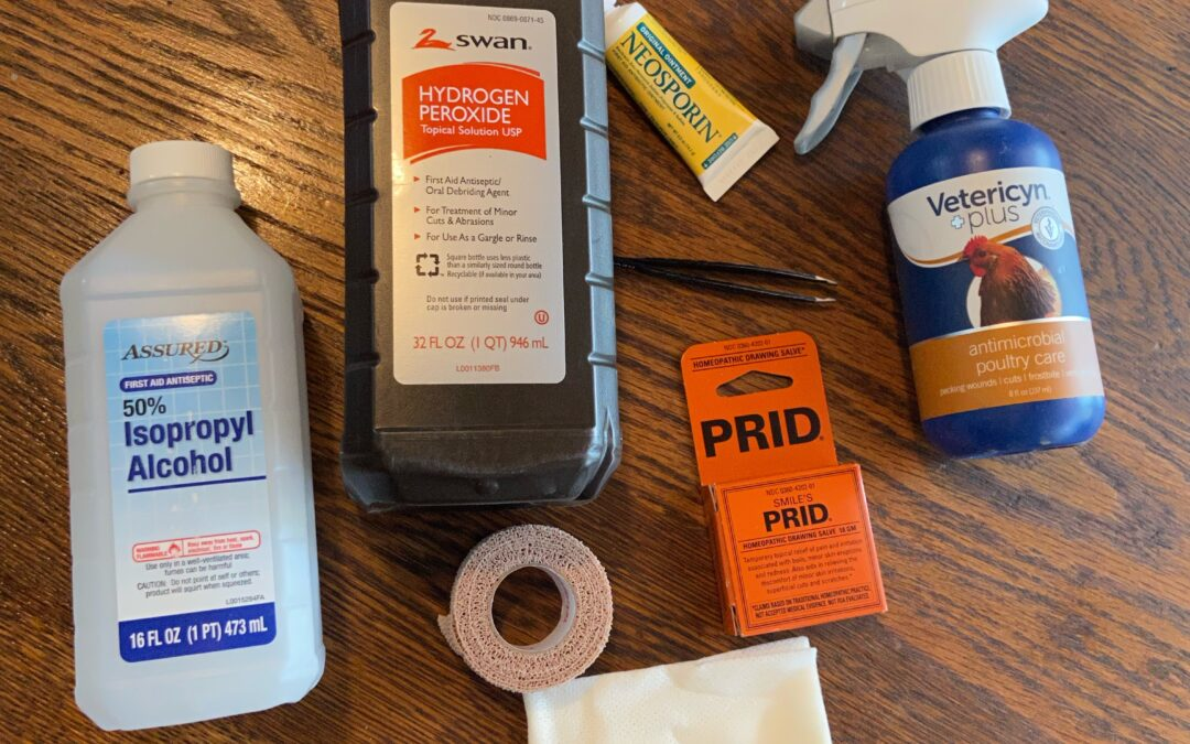 Chicken First Aid Kit- Why You Should Have One and What to Include