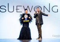Designer Sue Wong Struts with the Goddesses: Retrospective Show at Los Angeles Fashion Week Brings Down the House