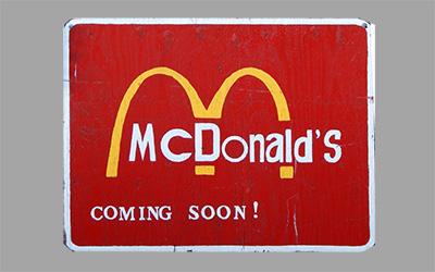 McDonald's Coming Soon?