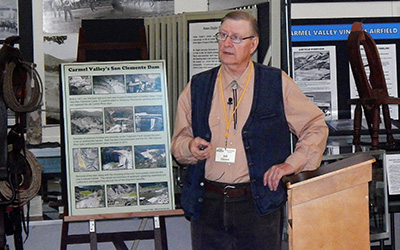 Historian Gives Talk to the Community