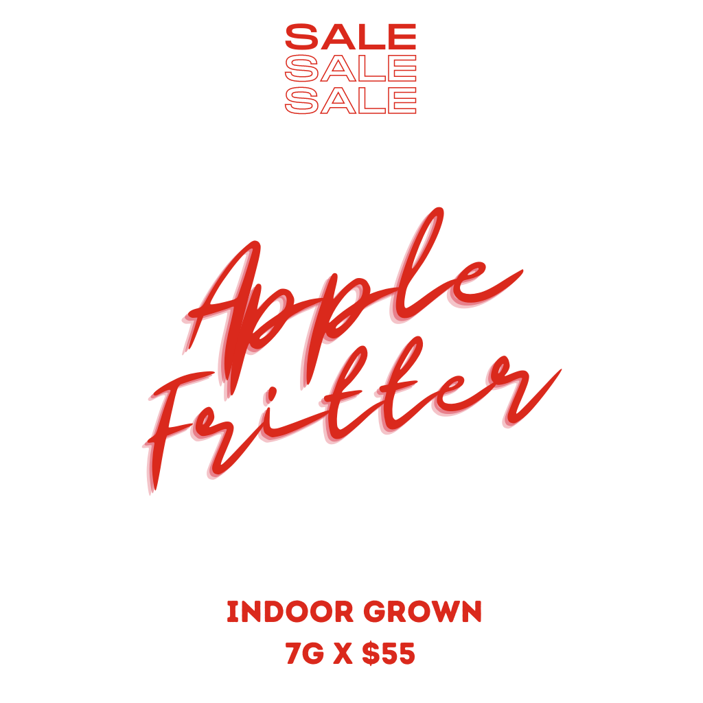 Apple Fritter is a sweet and tasty treat that is very potent for those who want to remain active and sociable. Grab it on sale today!
