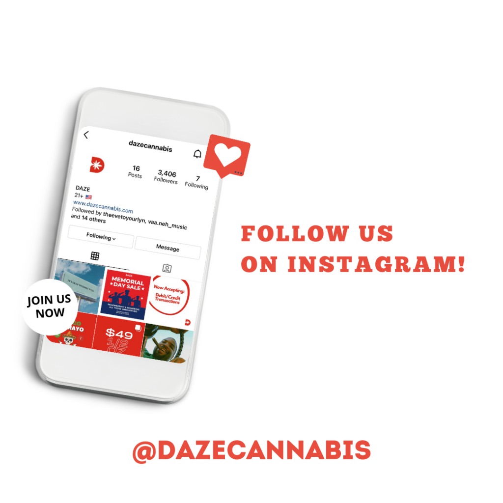 Follow us on Instagram to get the newest updates to our menu and deals along with more amazing promotions!