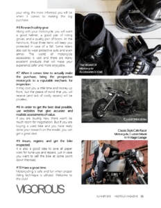 What To Consider Before Buying Your First Motor Bike