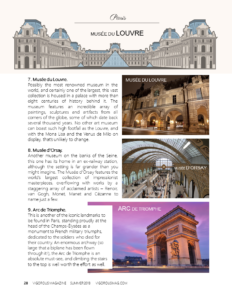 Allons À Paris! Top Ten Things To Do In This Beautiful City