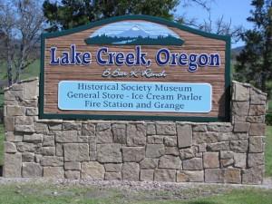 Gate-way to Lake Creek