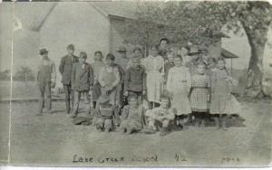 Lake Creek School 1912