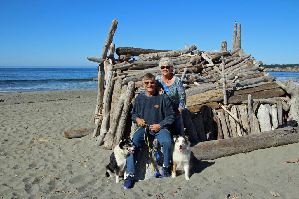 Kirk & Christine Thorburn with Shila & Dante
