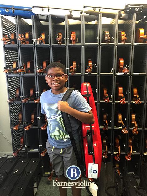 Another Happy Customer at Barnes Violins