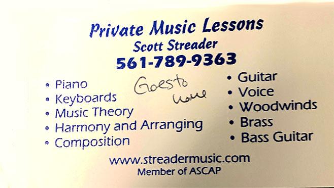 Scott Streader Music
