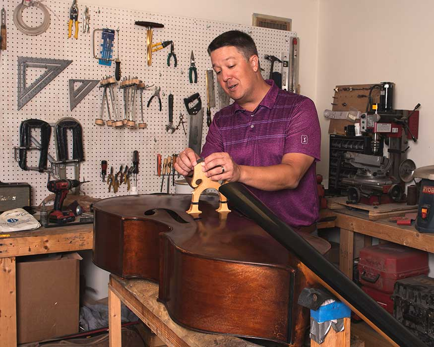 Ben Joella; Luthier and Professional Bassist