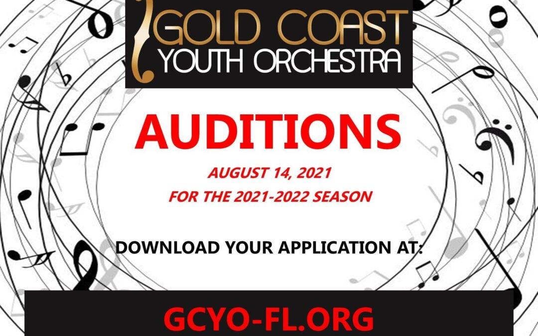 GCYO Auditions 2021