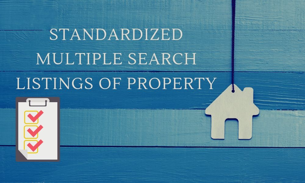 Standardized Multiple Search Listings of Property