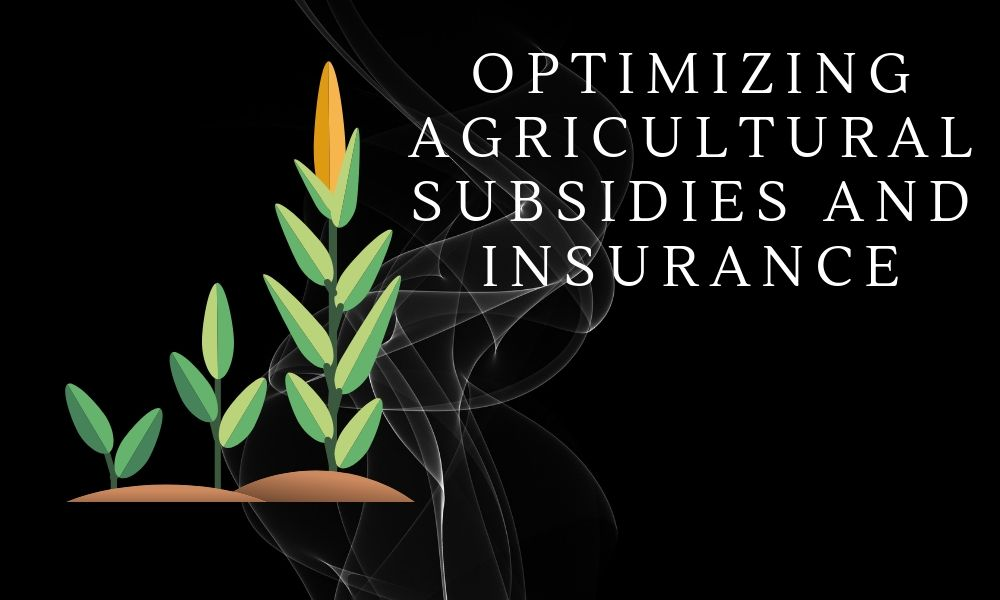Optimizing Agriculture Subsidies and Insurance