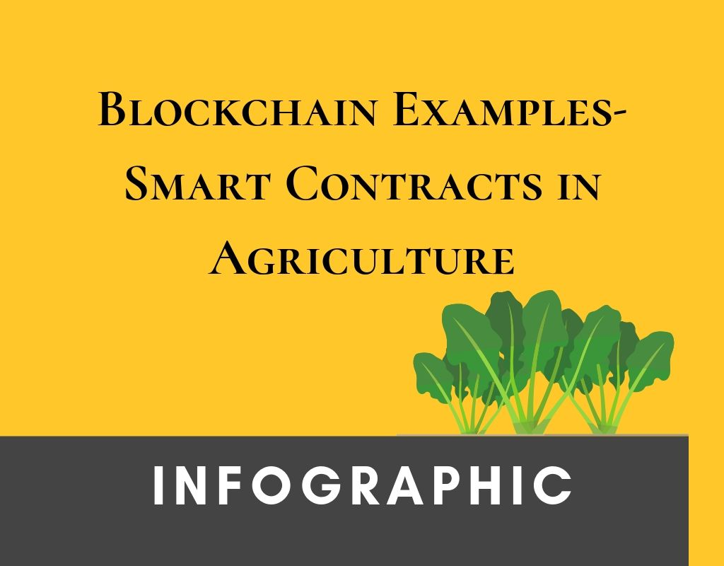 Blockchain Examples- Smart Contracts in Agriculture
