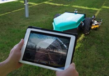 'Renu Robotic' – LIDAR based fully autonomous, all-electric lawn mower.