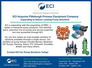ECI Acquires Pittsburgh Process Equipment Company!