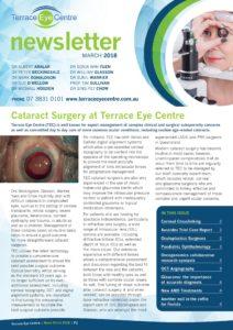 terrace eye march 2018 newsletter