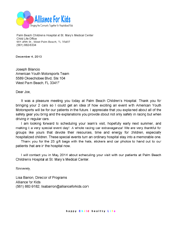 Palm-Beach-Children's-Hospital-Thank-you-letter-2013