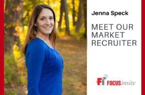 Meet Our Market Recruiter — Jenna Speck