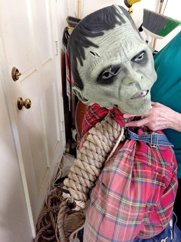Frankenstein attacked by cyber bullies