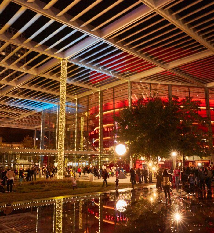 Reliant lights up Arts District