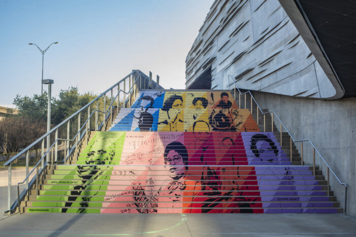 Vibrant design wins Staircase Project