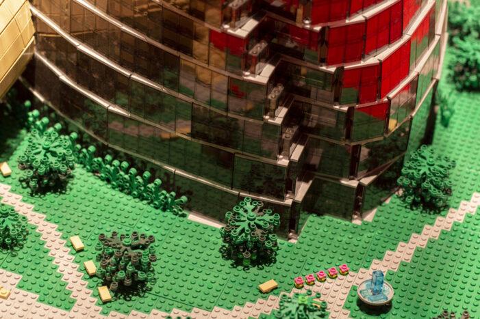 LEGOS take over Perot Museum