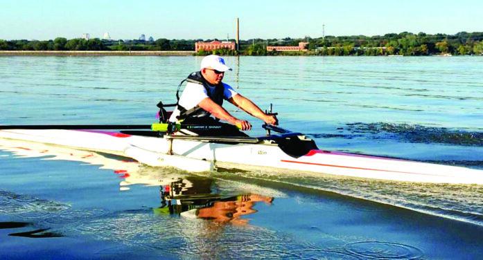 Adaptive program helps rower overcome fears