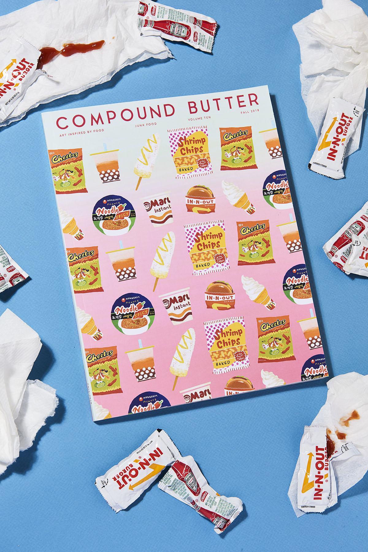 Yasara Gunawardena – Compund Butter – Junk Food – Blue Napkins