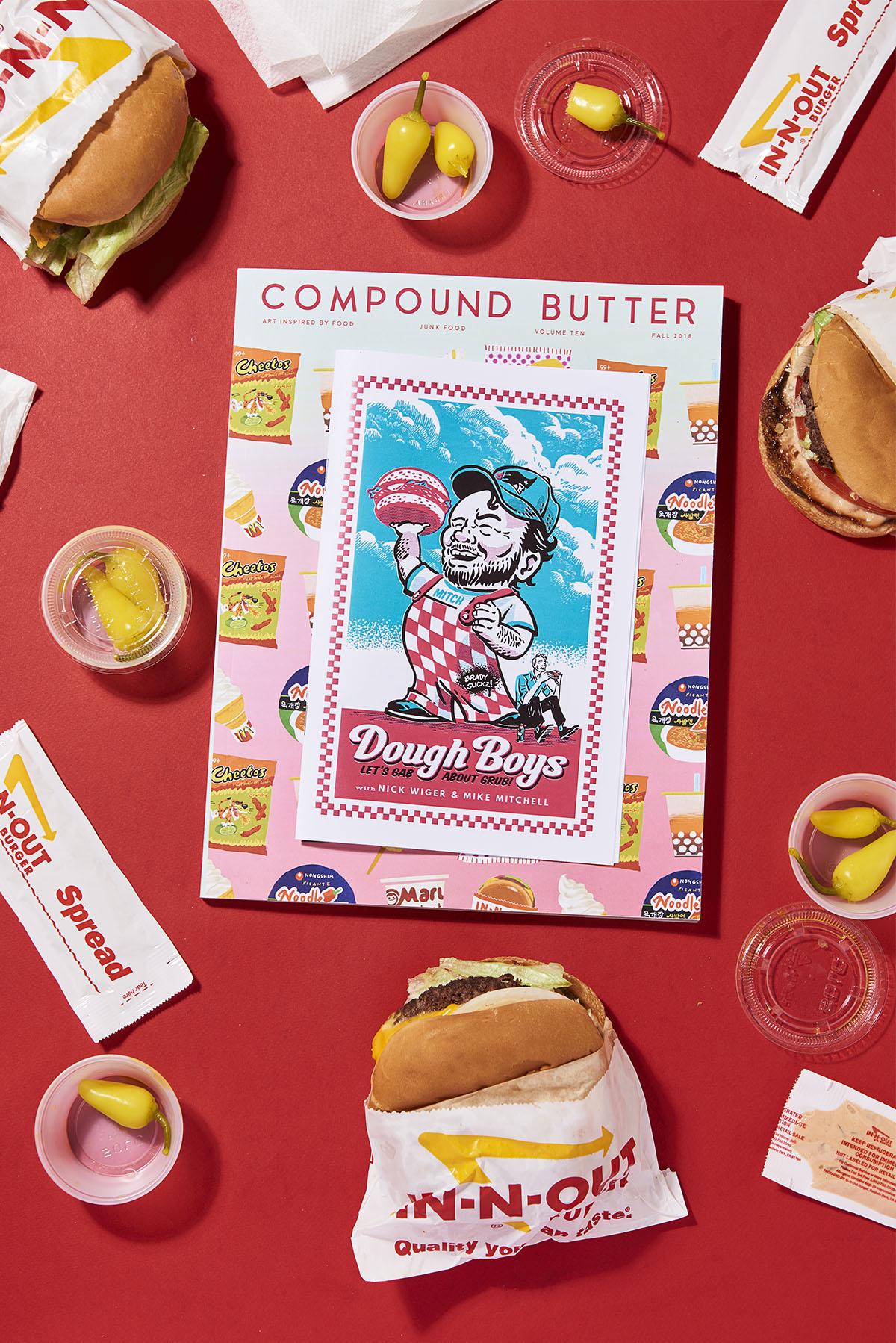 Yasara Gunawardena – Compund Butter – Junk Food – Innout Red + Dough Boy – web