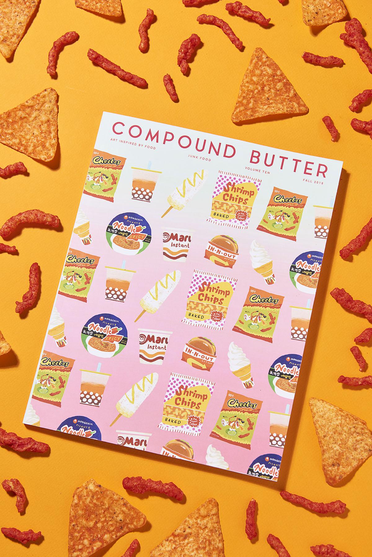 Yasara Gunawardena – Compund Butter – Junk Food – Snacks