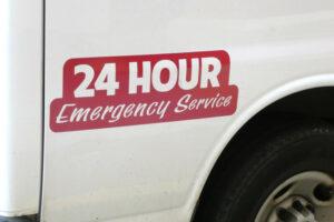24 hour repair truck 300x200 - Garage Door Repair