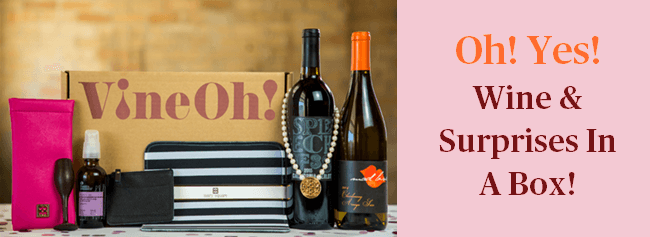 Vine Oh Wine Box Subscription By Beauty After Forty