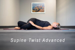Supine twist advanced