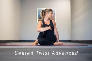 Seated Twist advanced